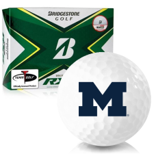 Bridgestone Tour B RXS Michigan Wolverines Golf Balls