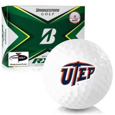 Bridgestone Tour B RXS Texas El Paso Miners Golf Balls