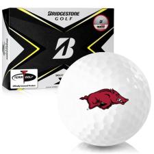 Bridgestone Tour B X Arkansas Razorbacks Golf Balls