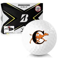 Bridgestone Tour B X Campbell Fighting Camels Golf Balls