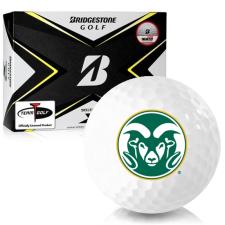 Bridgestone Tour B X Colorado State Rams Golf Balls