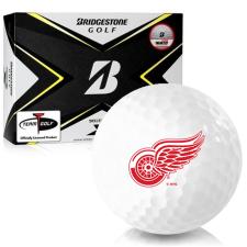 Bridgestone Tour B X Detroit Red Wings Golf Balls