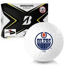 Bridgestone Tour B X Edmonton Oilers Golf Balls