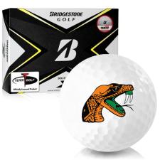 Bridgestone Tour B X Florida A&M Rattlers Golf Balls