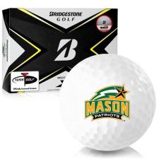Bridgestone Tour B X George Mason Patriots Golf Balls