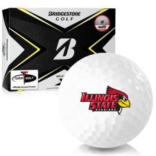 Bridgestone Tour B X Illinois State Redbirds Golf Balls