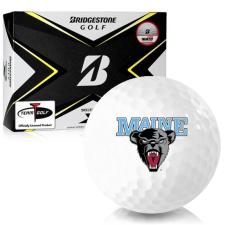 Bridgestone Tour B X Maine Black Bears Golf Balls