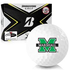 Bridgestone Tour B X Marshall Thundering Herd Golf Balls