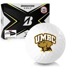 Bridgestone Tour B X Maryland Baltimore County Retrievers Golf Balls