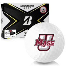 Bridgestone Tour B X UMass Minutemen Golf Balls