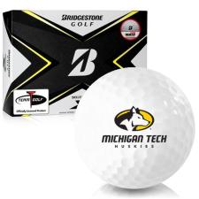 Bridgestone Tour B X Michigan Tech Huskies Golf Balls