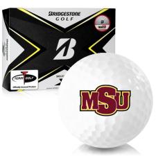 Bridgestone Tour B X Midwestern State Mustangs Golf Balls