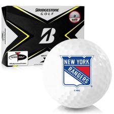 Bridgestone Tour B X New York Rangers Golf Balls