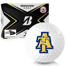 Bridgestone Tour B X North Carolina A&T Aggies Golf Balls