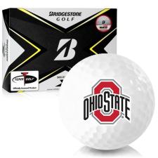 Bridgestone Tour B X Ohio State Buckeyes Golf Balls