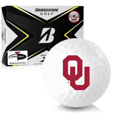 Bridgestone Tour B X Oklahoma Sooners Golf Balls