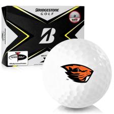 Bridgestone Tour B X Oregon State Beavers Golf Balls
