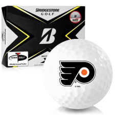 Bridgestone Tour B X Philadelphia Flyers Golf Balls