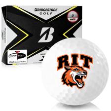 Bridgestone Tour B X RIT - Rochester Institute of Technology Tigers Golf Balls