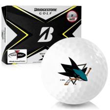 Bridgestone Tour B X San Jose Sharks Golf Balls