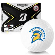 Bridgestone Tour B X San Jose State Spartans Golf Balls