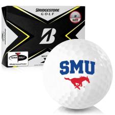 Bridgestone Tour B X SMU Mustangs Golf Balls