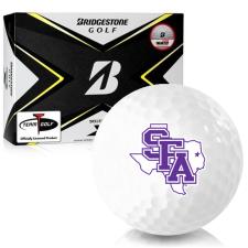 Bridgestone Tour B X Stephen F. Austin Lumberjacks Golf Balls