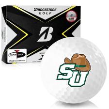 Bridgestone Tour B X Stetson Hatters Golf Balls