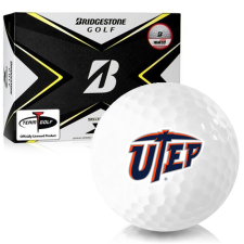 Bridgestone Tour B X Texas El Paso Miners Golf Balls