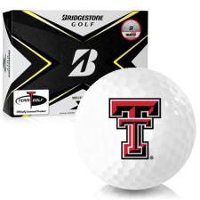 Bridgestone Tour B X Texas Tech Red Raiders Golf Balls