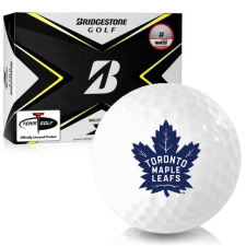 Bridgestone Tour B X Toronto Maple Leafs Golf Balls