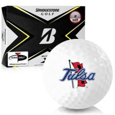 Bridgestone Tour B X Tulsa Golden Hurricane Golf Balls