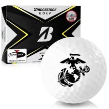 Bridgestone Tour B X US Marine Corps Golf Balls