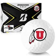 Bridgestone Tour B X Utah Utes Golf Balls