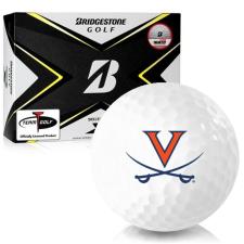 Bridgestone Tour B X Virginia Cavaliers Golf Balls