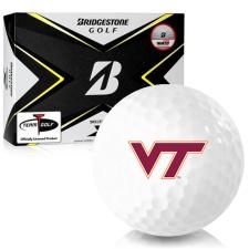 Bridgestone Tour B X Virginia Tech Hokies Golf Balls