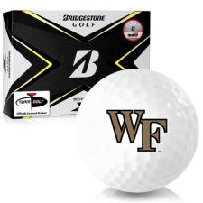 Bridgestone Tour B X Wake Forest Demon Deacons Golf Balls