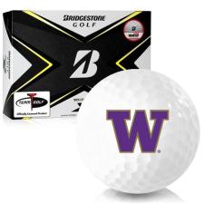 Bridgestone Tour B X Washington Huskies Golf Balls