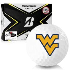 Bridgestone Tour B X West Virginia Mountaineers Golf Balls