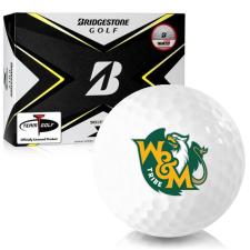 Bridgestone Tour B X William & Mary Tribe Golf Balls