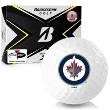 Bridgestone Tour B X Winnipeg Jets Golf Balls