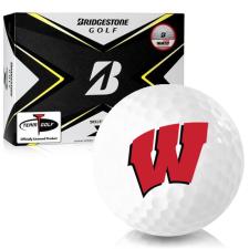 Bridgestone Tour B X Wisconsin Badgers Golf Balls