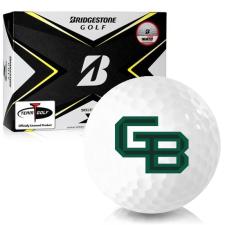 Bridgestone Tour B X Wisconsin Green Bay Phoenix Golf Balls