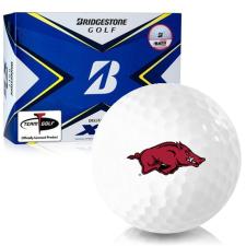 Bridgestone Tour B XS Arkansas Razorbacks Golf Balls