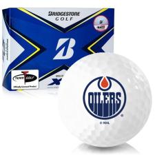 Bridgestone Tour B XS Edmonton Oilers Golf Balls