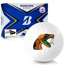Bridgestone Tour B XS Florida A&M Rattlers Golf Balls