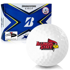 Bridgestone Tour B XS Illinois State Redbirds Golf Balls