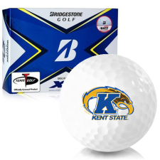 Bridgestone Tour B XS Kent State Golden Flashes Golf Balls