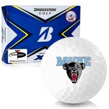 Bridgestone Tour B XS Maine Black Bears Golf Balls