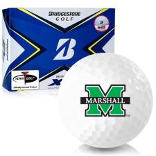 Bridgestone Tour B XS Marshall Thundering Herd Golf Balls
